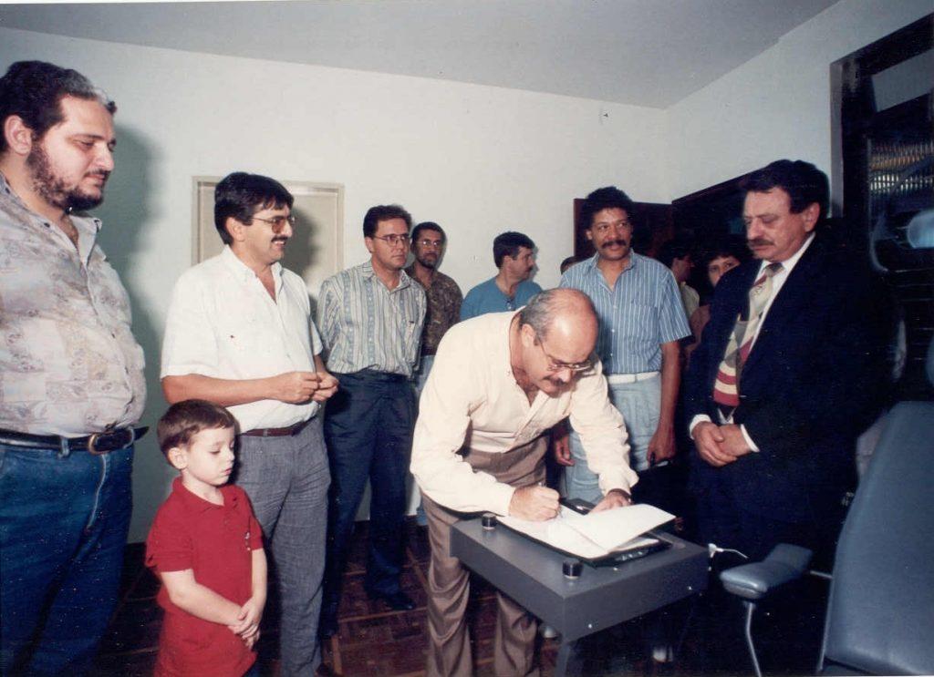 1992 – Espaço na Encol