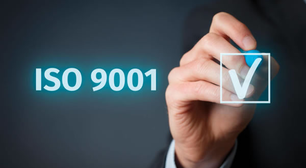 2019 – ISO 9001:2015